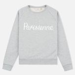 Женская толстовка Maison Kitsune Parisienne Grey Melange фото- 0