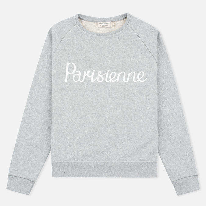 Женская толстовка Maison Kitsune Parisienne Grey Melange
