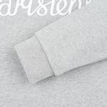 Женская толстовка Maison Kitsune Parisienne Grey Melange фото- 3