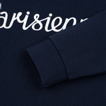 Женская толстовка Maison Kitsune Parisienne Navy фото- 3