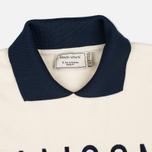 Женская толстовка Maison Kitsune Polo Cropped Ecru фото- 1