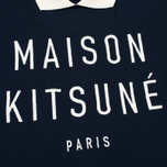 Maison Kitsune Polo Women's Sweatshirt Cropped Navy photo- 2
