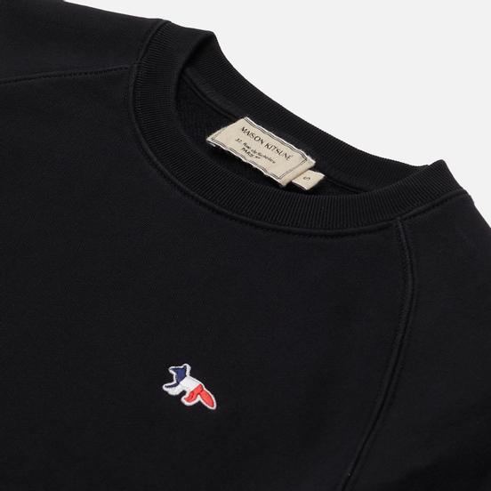Женская толстовка Maison Kitsune Tricolor Fox Patch Black