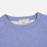 Женская толстовка Maison Kitsune Tricolor Fox Patch Lavender Blue фото- 1
