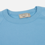 Женская толстовка Maison Kitsune Tricolor Fox Patch Light Blue фото- 1