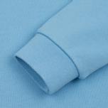 Женская толстовка Maison Kitsune Tricolor Fox Patch Light Blue фото- 3