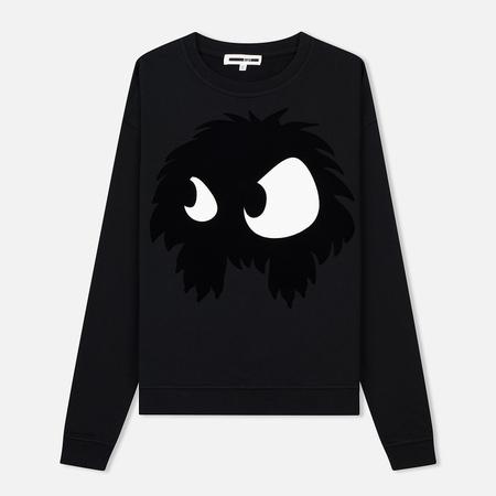 Женская толстовка McQ Alexander McQueen Slouch Chester Monster Darkest Black