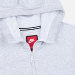 Женская толстовка Nike Tech Fleece Full Zip Birch Heather/White фото- 1