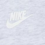 Женская толстовка Nike Tech Fleece Full Zip Birch Heather/White фото- 5