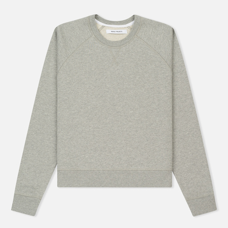Женская толстовка Norse Projects Audhilde Sweat Top Mid Grey Melange