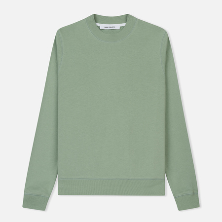 Женская толстовка Norse Projects Erna Cotton Sweat Pale Jade