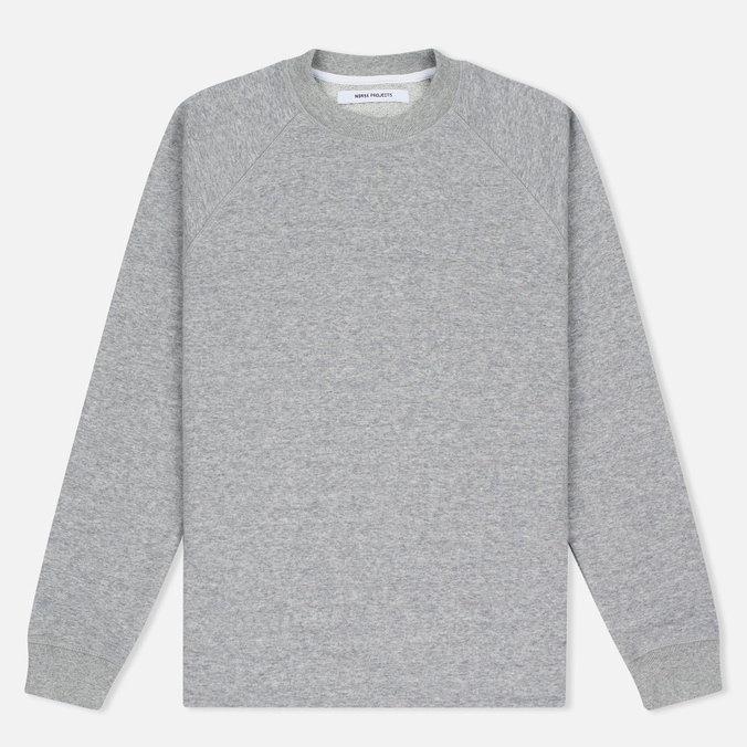 Женская толстовка Norse Projects Liva Light Grey Melange