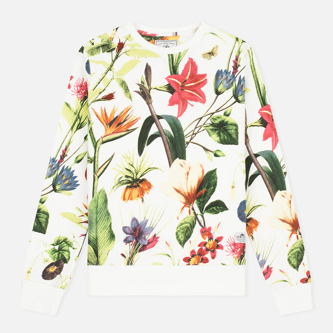 Penfield Belmont Botanical Women's Sweatshirt White