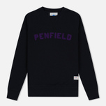 Penfield Brookport Women's Sweatshirt Black/Purple photo- 0