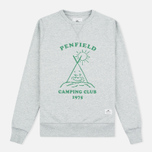 Женская толстовка Penfield Camping Club Crew Neck Grey фото- 0