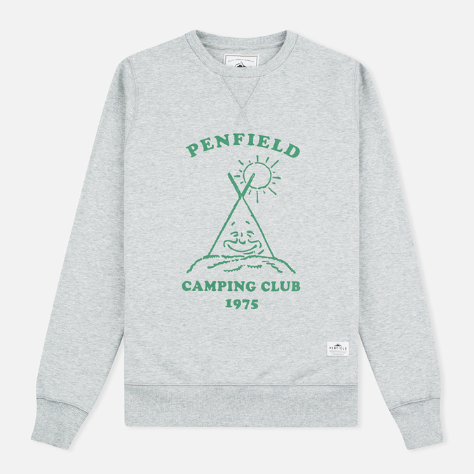 Женская толстовка Penfield Camping Club Crew Neck Grey