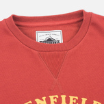 Женская толстовка Penfield Camping Club Crew Neck Red фото- 1