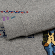 Женская толстовка Polo Ralph Lauren Bear Surrounded Playful Motifs Dark Vintage Heather фото- 3