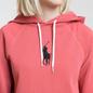 Женская толстовка Polo Ralph Lauren Embroidered Logo Kangaroo Pocket Hoody Nantucket Red фото - 2