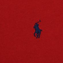 Женская толстовка Polo Ralph Lauren Embroidered Logo Seasonal Crew Neck Red фото- 2