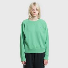 Женская толстовка Polo Ralph Lauren Embroidered Logo Seasonal Crew Neck Vineyard Green фото- 1