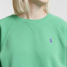 Женская толстовка Polo Ralph Lauren Embroidered Logo Seasonal Crew Neck Vineyard Green фото- 2