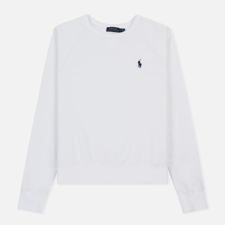 Женская толстовка Polo Ralph Lauren Embroidered Logo Seasonal Crew Neck White