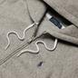 Женская толстовка Polo Ralph Lauren Full-Zip Fleece Hoodie Dark Vintage Heather фото - 1