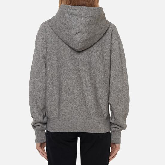 Женская толстовка Polo Ralph Lauren Full-Zip Fleece Hoodie Dark Vintage Heather