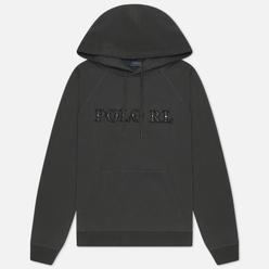 Женская толстовка Polo Ralph Lauren Loopback Fleece Hoodie Black Mask