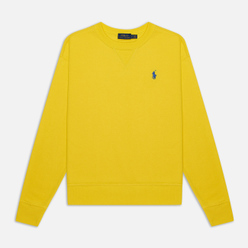 Женская толстовка Polo Ralph Lauren Polo Pony Mini Logo Featherweight Fleece Lemon Crush