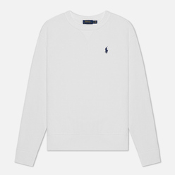 Женская толстовка Polo Ralph Lauren Polo Pony Mini Logo Featherweight Fleece White