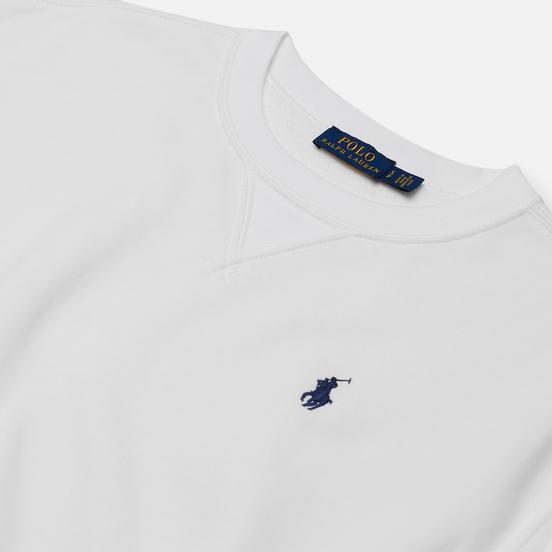 Женская толстовка Polo Ralph Lauren Polo Pony Mini Logo Featherweight Fleece White