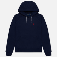 Женская толстовка Polo Ralph Lauren Polo Pony Mini Logo Hoodie Cruise Navy фото- 3