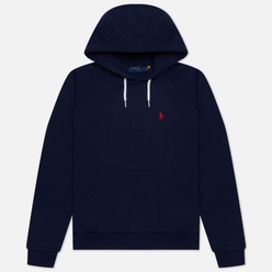 Женская толстовка Polo Ralph Lauren Polo Pony Mini Logo Hoodie Cruise Navy