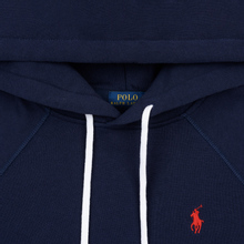 Женская толстовка Polo Ralph Lauren Polo Pony Mini Logo Hoodie Cruise Navy фото- 1