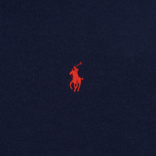 Женская толстовка Polo Ralph Lauren Polo Pony Mini Logo Hoodie Cruise Navy фото- 2