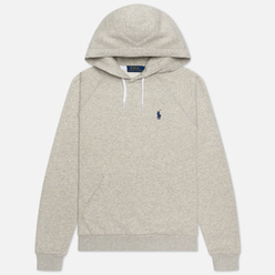 Женская толстовка Polo Ralph Lauren Polo Pony Mini Logo Hoodie Light Sport Heather