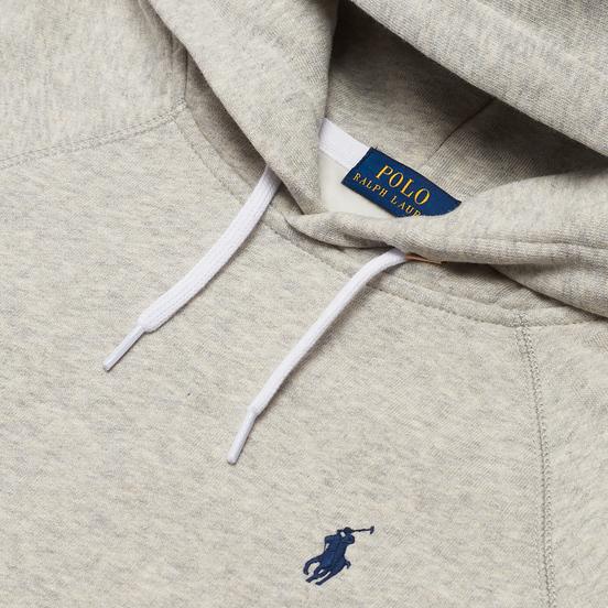 Женская толстовка Polo Ralph Lauren Polo Pony Mini Logo Hoodie Light Sport Heather