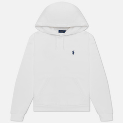 Женская толстовка Polo Ralph Lauren Polo Pony Mini Logo Hoodie White