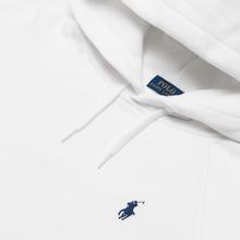 Женская толстовка Polo Ralph Lauren Polo Pony Mini Logo Hoodie White фото- 1