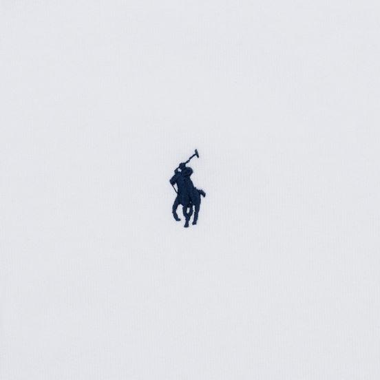 Женская толстовка Polo Ralph Lauren Polo Pony Mini Logo Hoodie White
