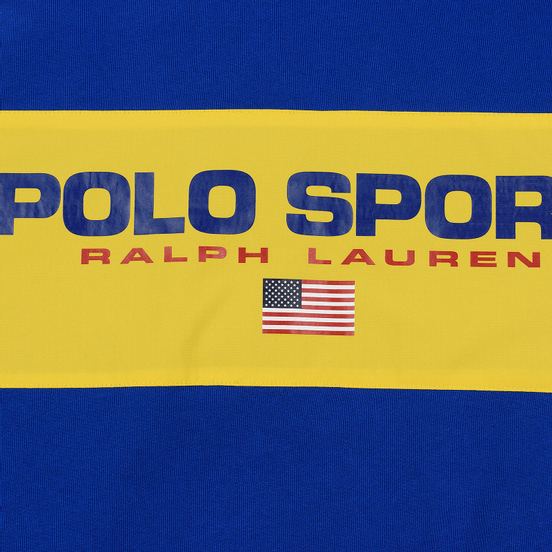 Женская толстовка Polo Ralph Lauren Polo Sport Relaxed Hoodie Sapphire Star