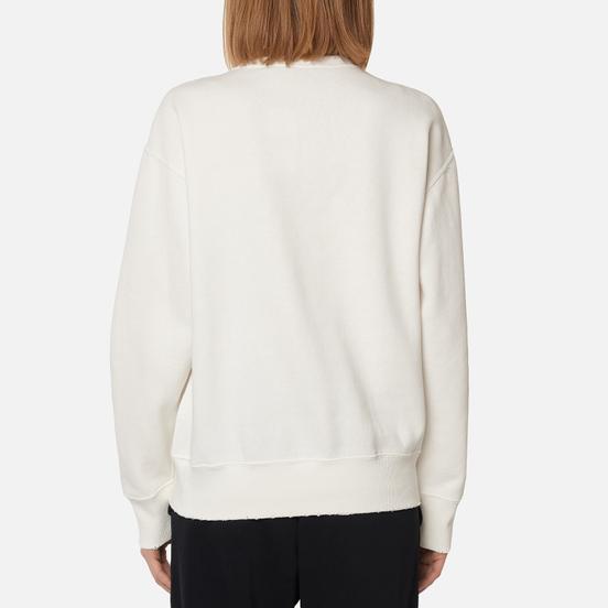 Женская толстовка Polo Ralph Lauren Stripe Bear Lightweight Seasonal Fleece Deckwash White