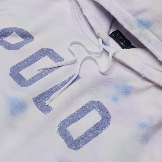 Женская толстовка Polo Ralph Lauren Tie-Dye Fleece Hoodie Pastel Paintsplatter