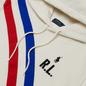 Женская толстовка Polo Ralph Lauren Two Stripe R.L. Hoodie Featherweight Fleece Deckwash White фото - 1