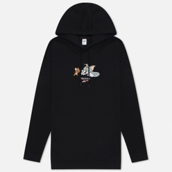 Женская толстовка Reebok x Tom & Jerry Oversize Long Hoodie Black