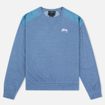Stussy Military Women's Sweatshirt Blue photo- 0