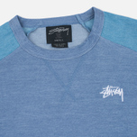 Stussy Military Women's Sweatshirt Blue photo- 1