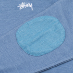 Stussy Military Women's Sweatshirt Blue photo- 3
